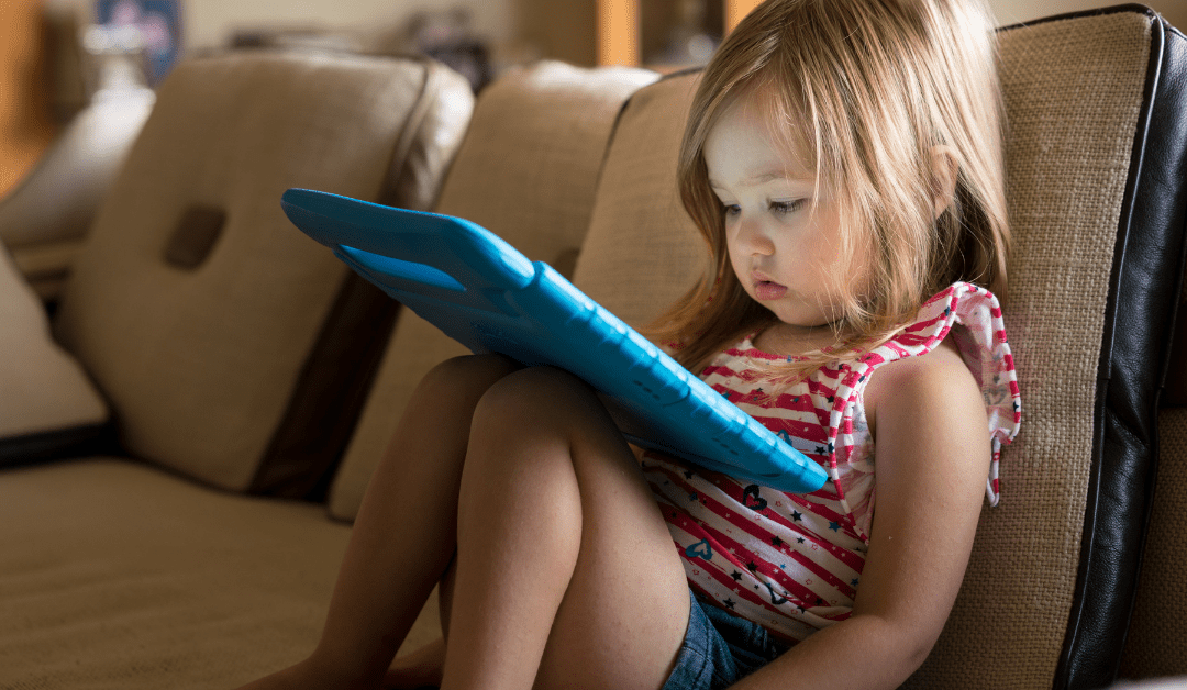 Kids Addicted With Screen Time